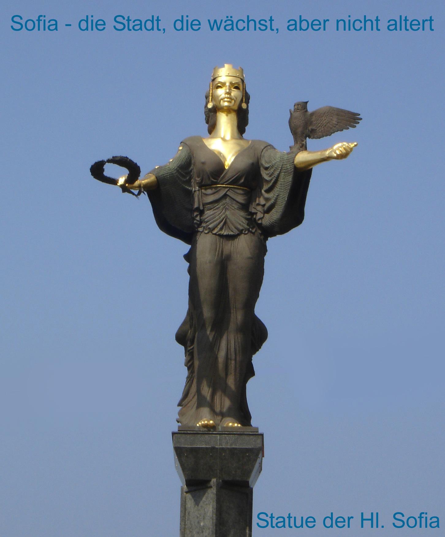 Statue der Hl. Sofia